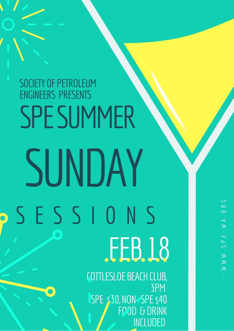 SPE Sunday Session Flyer