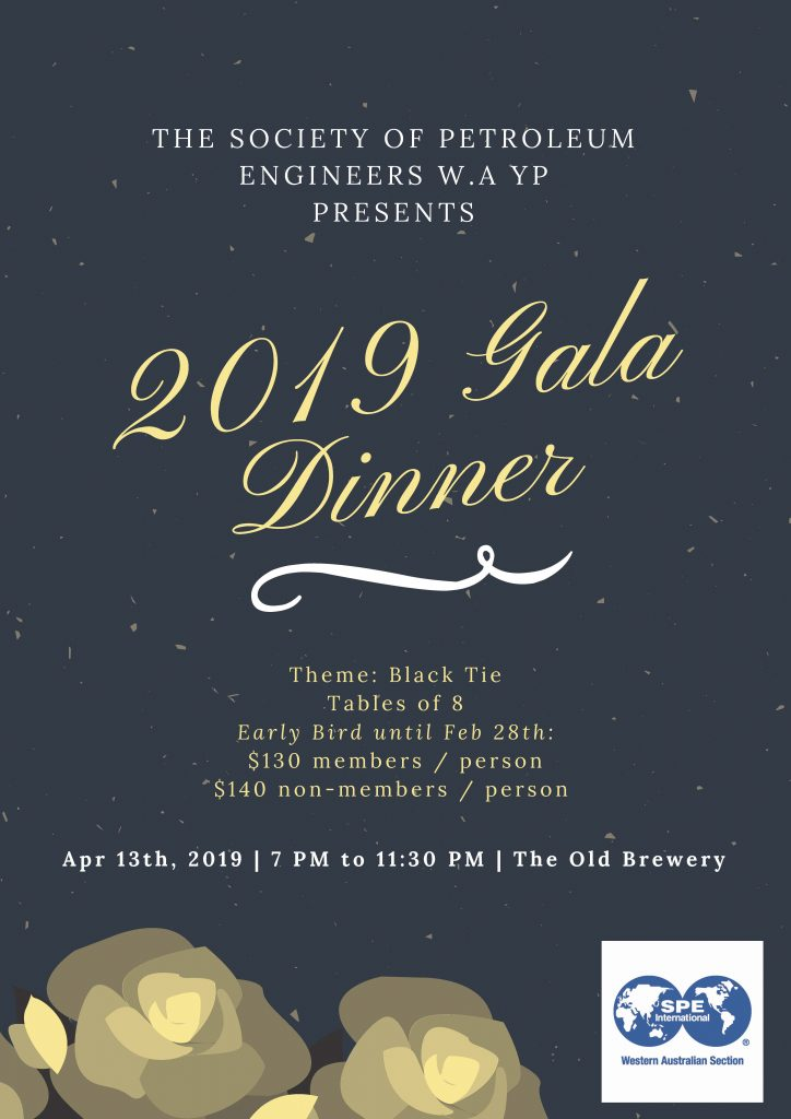 SPE YP Gala Dinner Rev 1 - Early bird