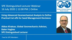 Abbas July 2020 SPE Distinguished Lecturer Webinar