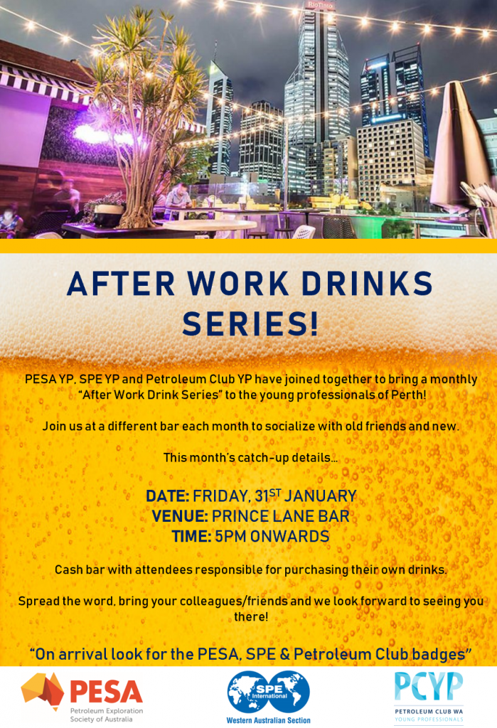After Work Drinks Series Poster Jan20